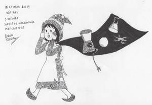 Inktober Witches 3