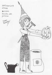Inktober Witches 4