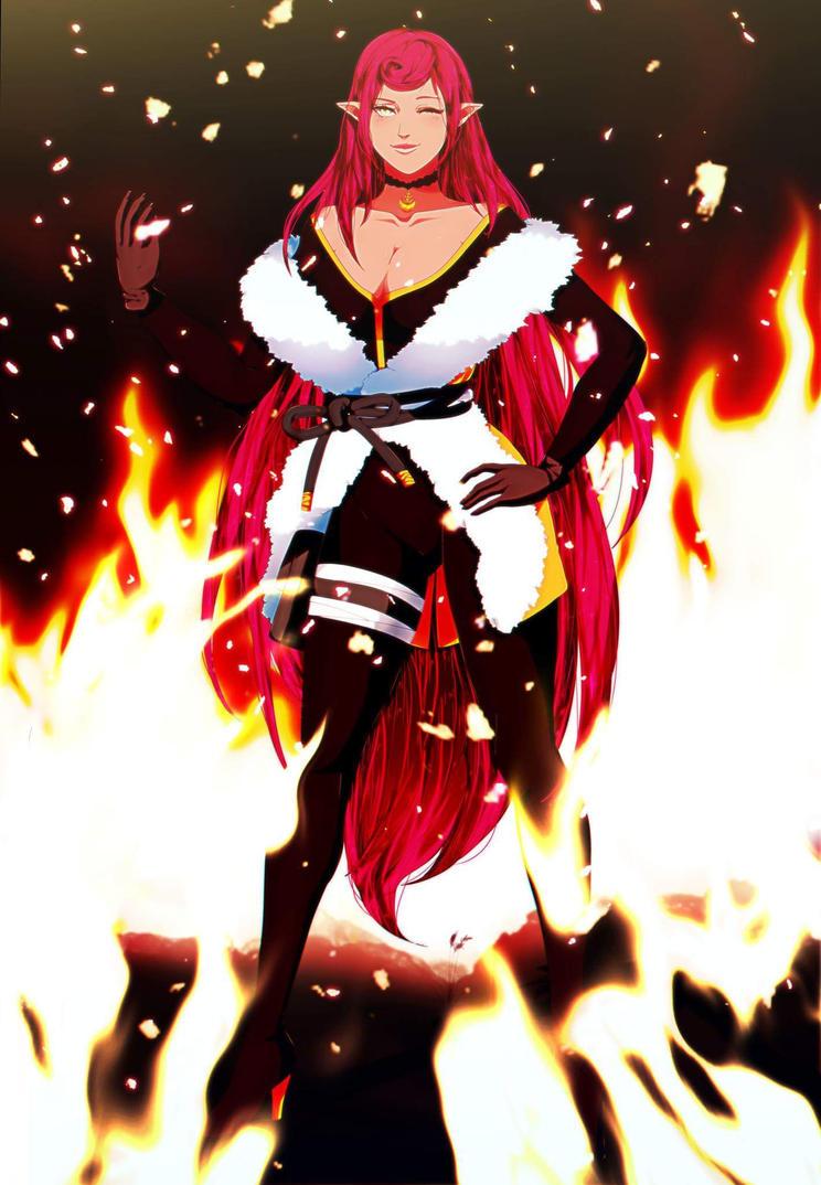Fiercy as a fire by Yumanae