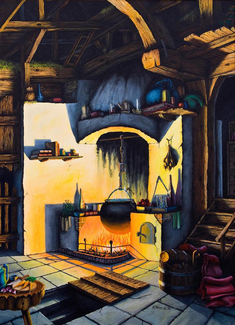 Witches Room by grimleyfiendish