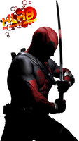 deadpool [real] render