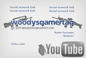 woodysgamertag business card 1 by dendoona