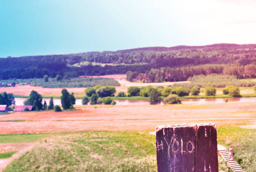 Painted calm lands