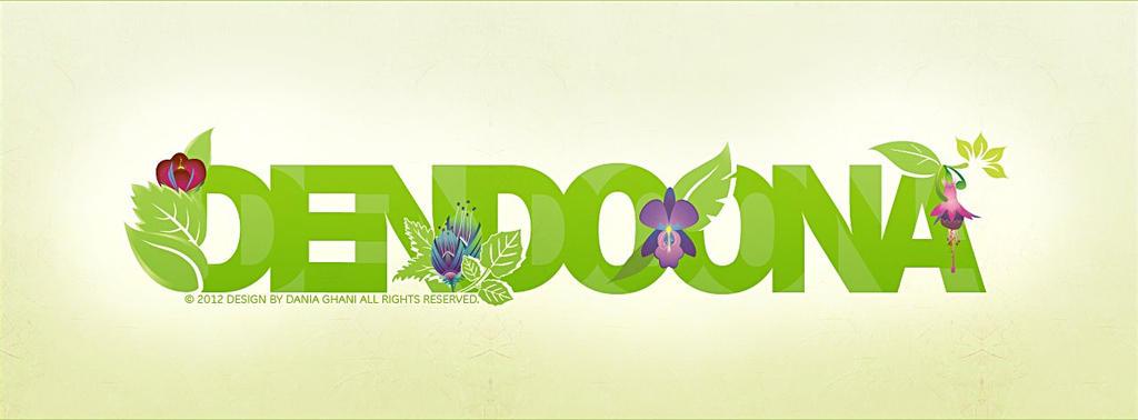 Dendoona typograph