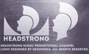 Headstrong youtube logo design