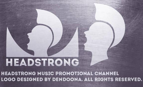 Headstrong youtube logo design