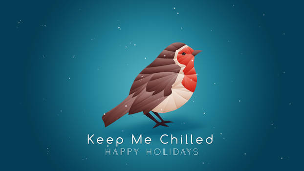 Robin Origami Wallpaper [Free] Keep Me Chilled