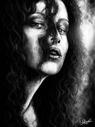 Bellatrix Lestrange by Crystiee