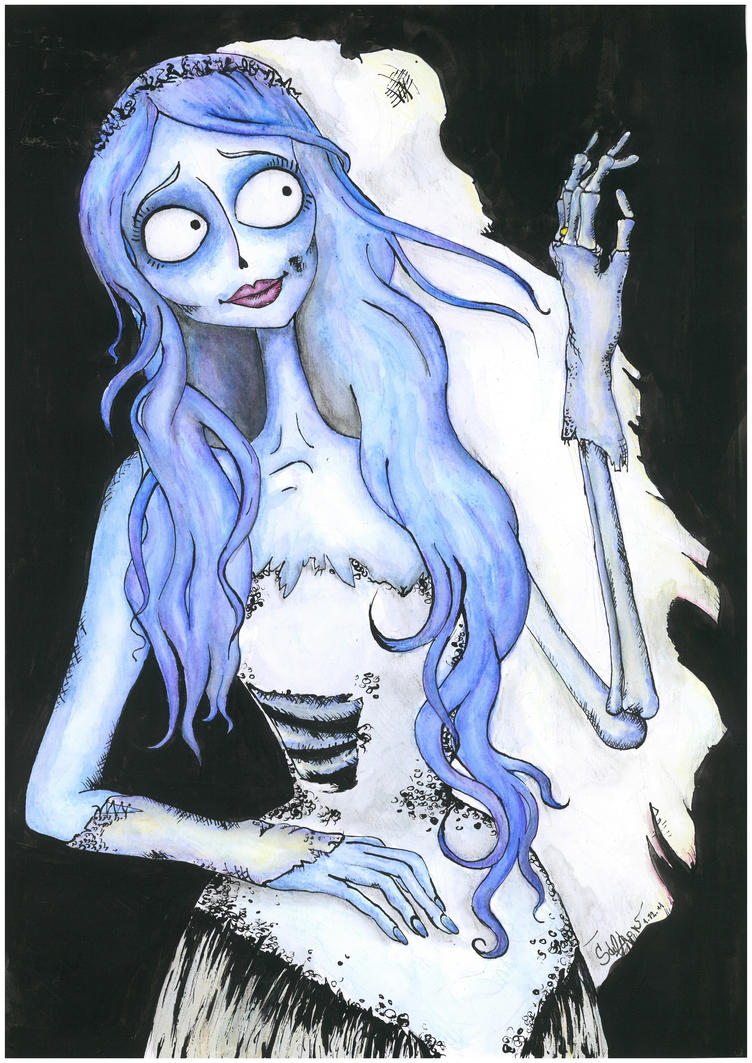 The corpse bride by Crystiee