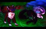 {Warrior cats}Ha Vs Ho by 0xoHalfLight-1999ox0