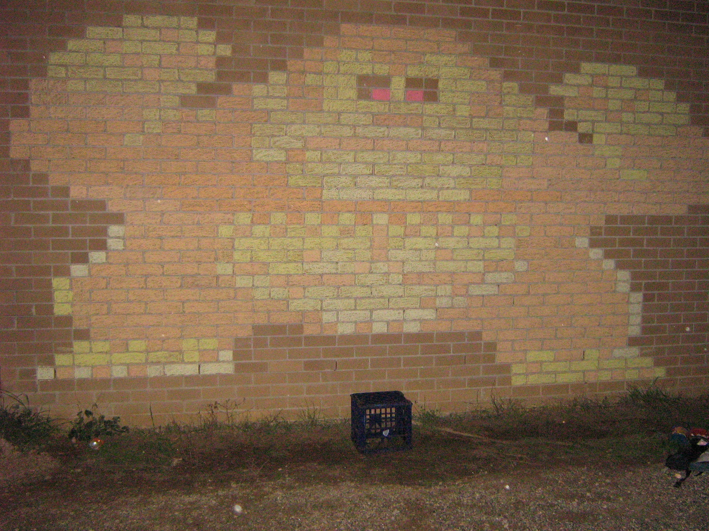 Chalk Donkey Kong by liverspoon