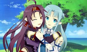 Yuuki and Asuna