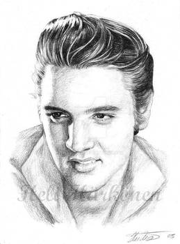 Elvis - 50's portrait