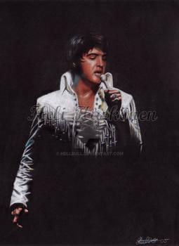 Elvis - 70's stage portrait