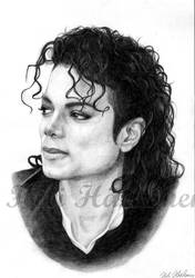 Michael Jackson - Bad portrait