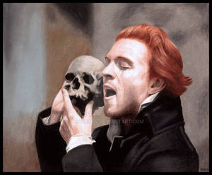 Hamlet played by Damian Lewis