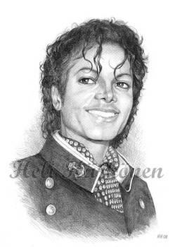 Michael Jackson '84 portrait