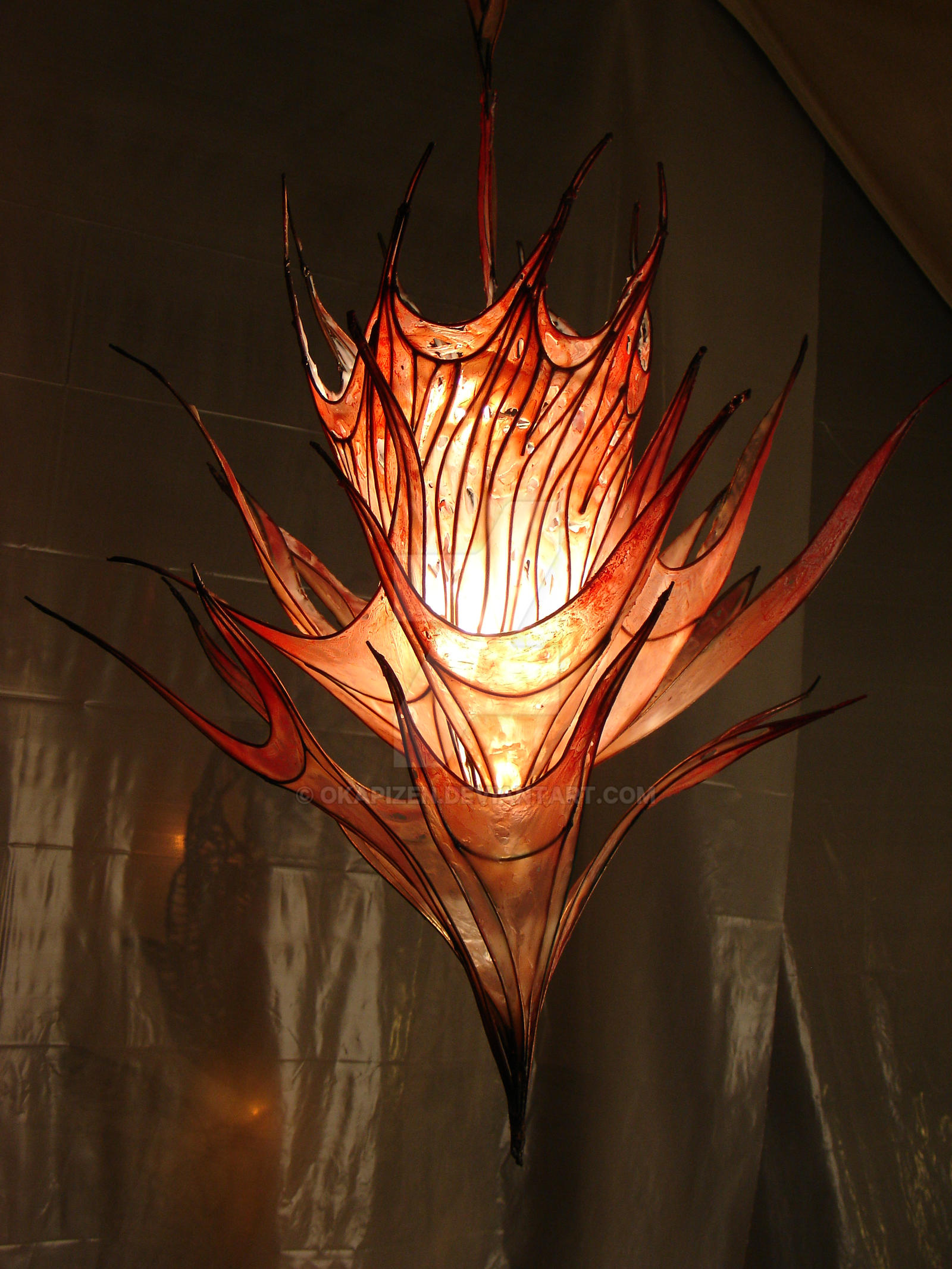 Fire Lamp by OkapiZen