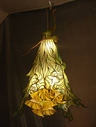 Flower lamp - 4  'K-lamp' by OkapiZen