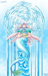 mermaid by pleroo