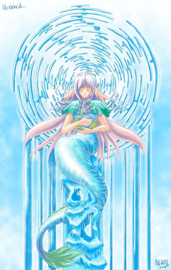 mermaid by pleroo