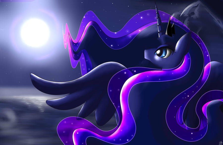Night Princess by MrIcantdraw