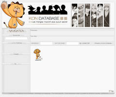 Webdesign Kon Database 2 by I-Mega-I