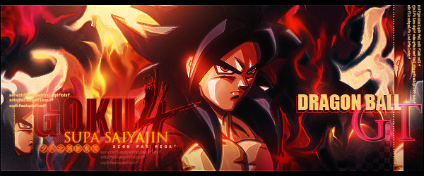 Sign' Goku ssj4 by I-Mega-I