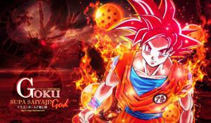 Goku Supa Saiyajin God by I-Mega-I