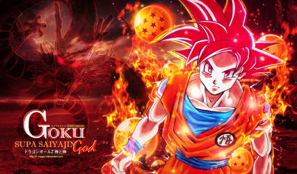 Goku Supa Saiyajin God