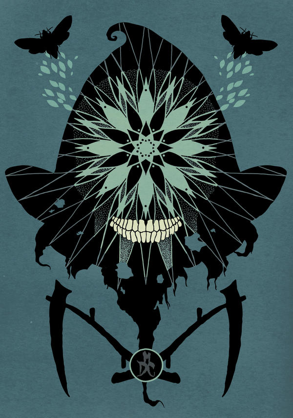 Das Reaper Moth by monkeydeathcult