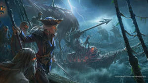 Artwork done for the Curse of the vampire coast
