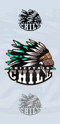 Chieftain Chill Logo by AerapixDesign