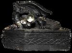 Dragon Coffin 001 [UPDATE] - Clear Cut PNG
