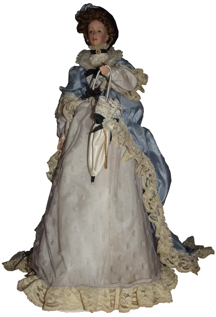 Antique Doll 001 - Clear Cut by Travail-de-lame