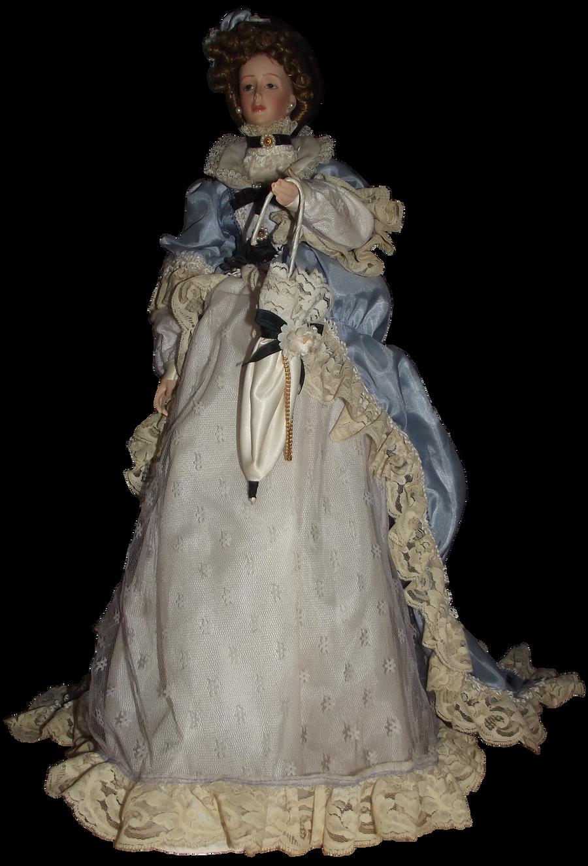 Antique Doll 001 - Clear Cut