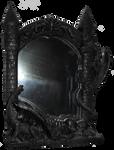 Dragon Mirror 001 - Clear Cut