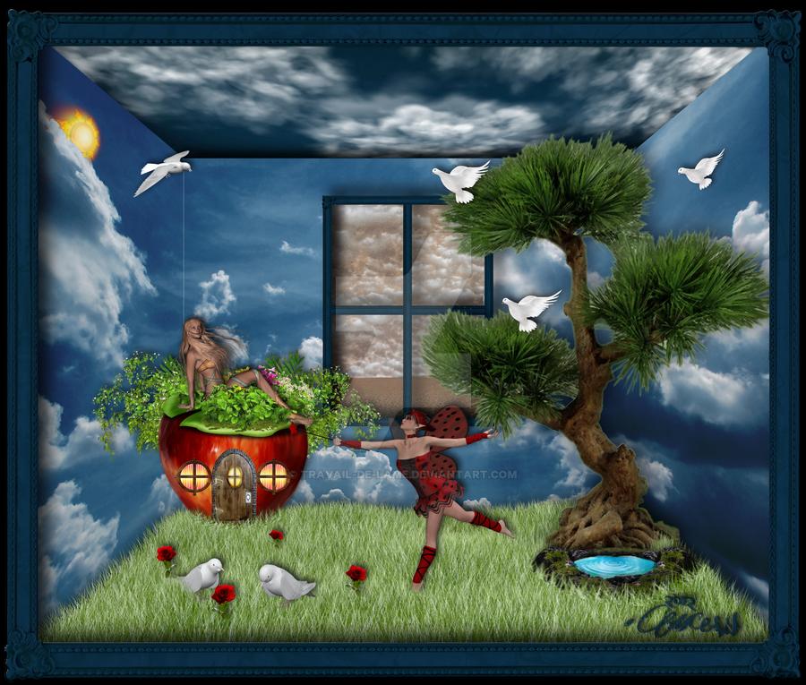 Fairy Dreams by Travail-de-lame