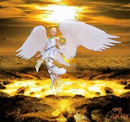Angel of the sun