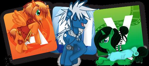MLP:FiM: The AMV.Org Ponies!