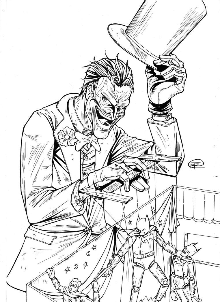 The Joker Line Art : The joker by betonz on deviantart