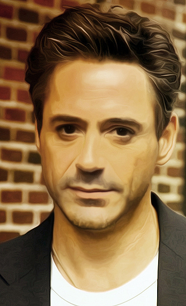 Robert Downey Jr. by Powershift95