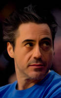 Robert Downey Jr. by Powershift95