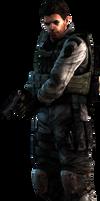 the mercenaries - Chris render