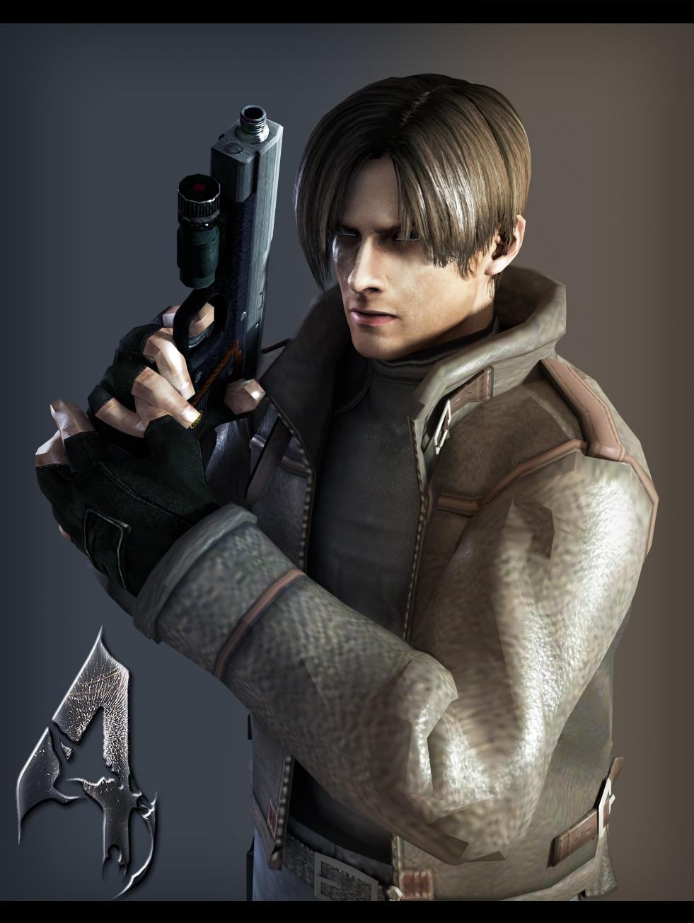 Resident Evil 4 Leon By Weskerfan1236 On Deviantart