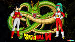 dragon ball W pan et bra Signature