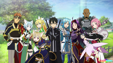 guilde SAO by redsdevils
