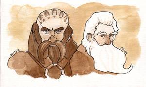 Dwalin and Balin.
