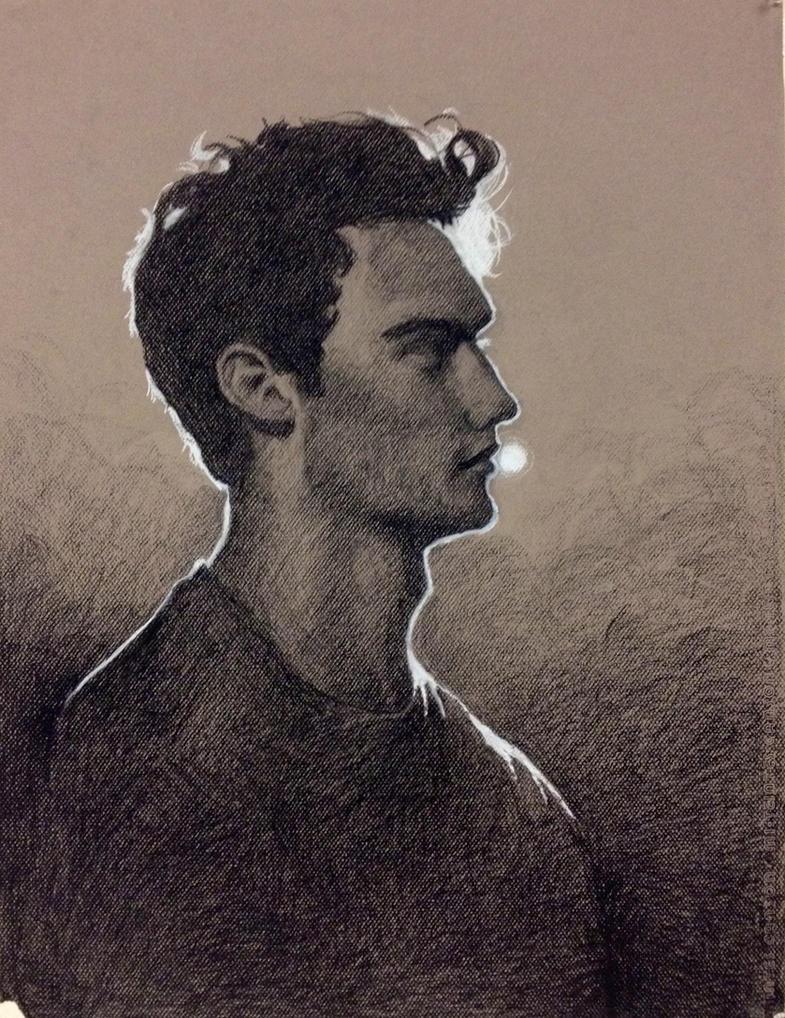 A man of unclean lips. by tisserande