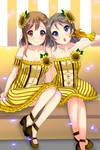 Hanamaru Kunikida and You Watanabe